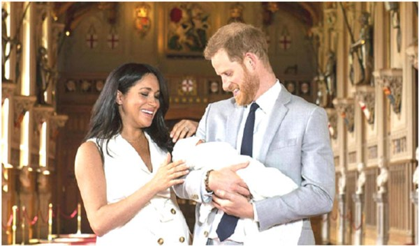 Harry, Meghan reveal 'Master Archie'
