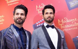 Shahid Kapoor unveils his Madame Tussauds wax figure
