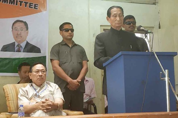 Take responsibility to hasten solution of pol problem: Jamir tells Cong