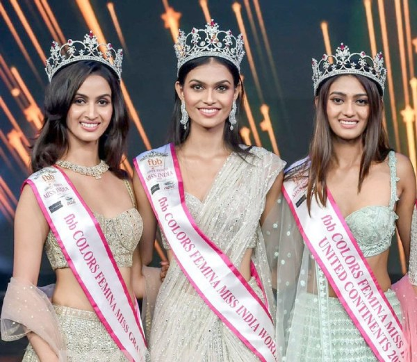 Suman Rao is crowned Miss India 2019