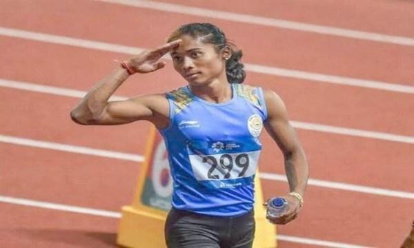 Hima Das wins 4th gold in 15 days