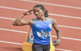 Hima Das wins 4th gold in 15 days