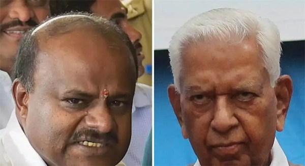 Karnataka Governor asks CM to prove majority today