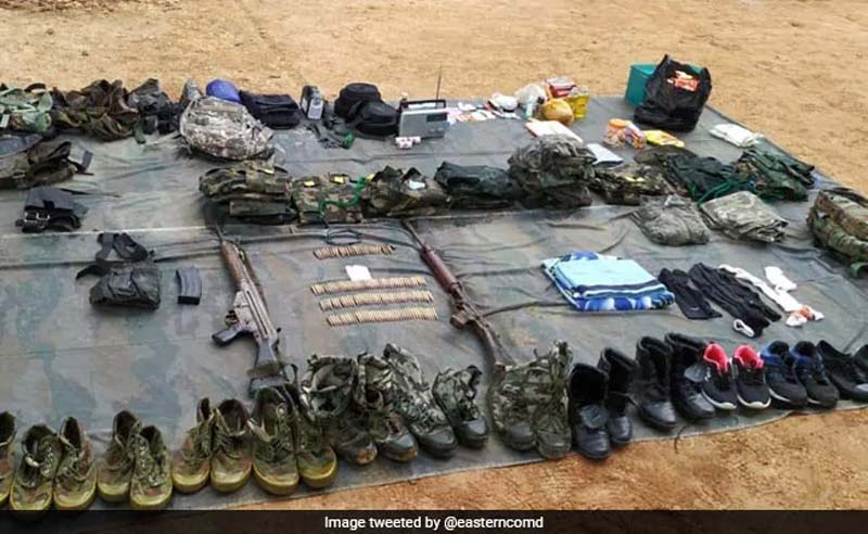 Army dismantles hidden camp of NSCN(IM) in Manipur