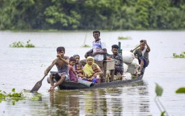 11 die in flood & landslides in Assam, 26.5 lakh people hit across 28 dists