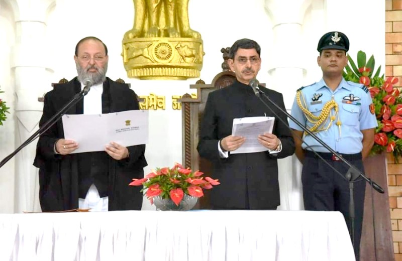 RN Ravi sworn in as  Governor of Nagaland