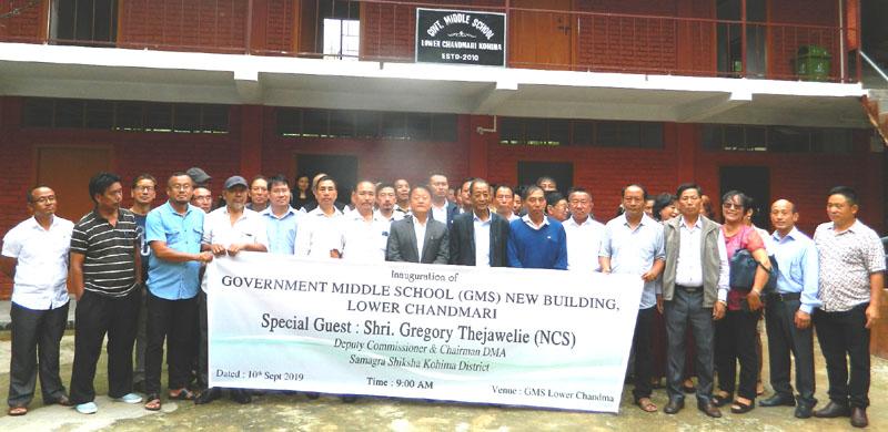 DC Kohima stresses on spreading awareness on plastic ban, sanitation through school assemblies