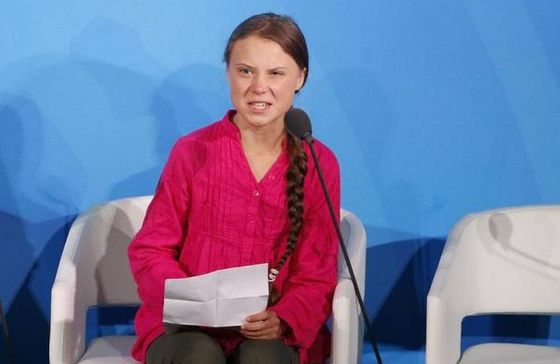 'You have stolen my dreams',  Thunberg angrily tells world leaders