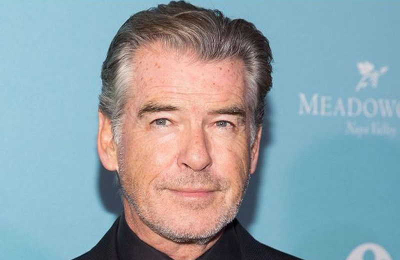Get out of the way guys: Pierce Brosnan bats for female Bond