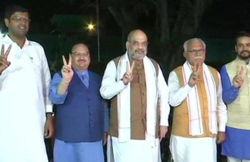 BJP-JJP alliance to form Govt in Haryana,  Dushyant likely to be deputy CM