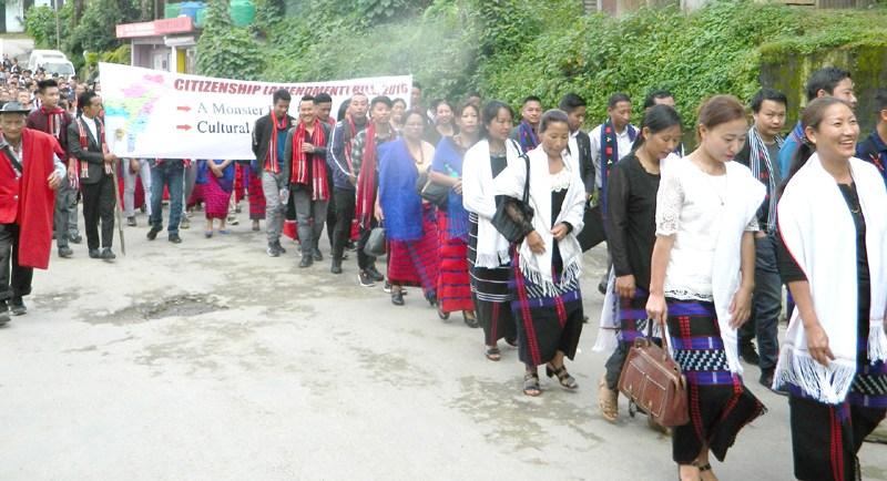 Nagaland marches against CAB