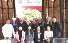 7th Naga Chef begins in Kohima
