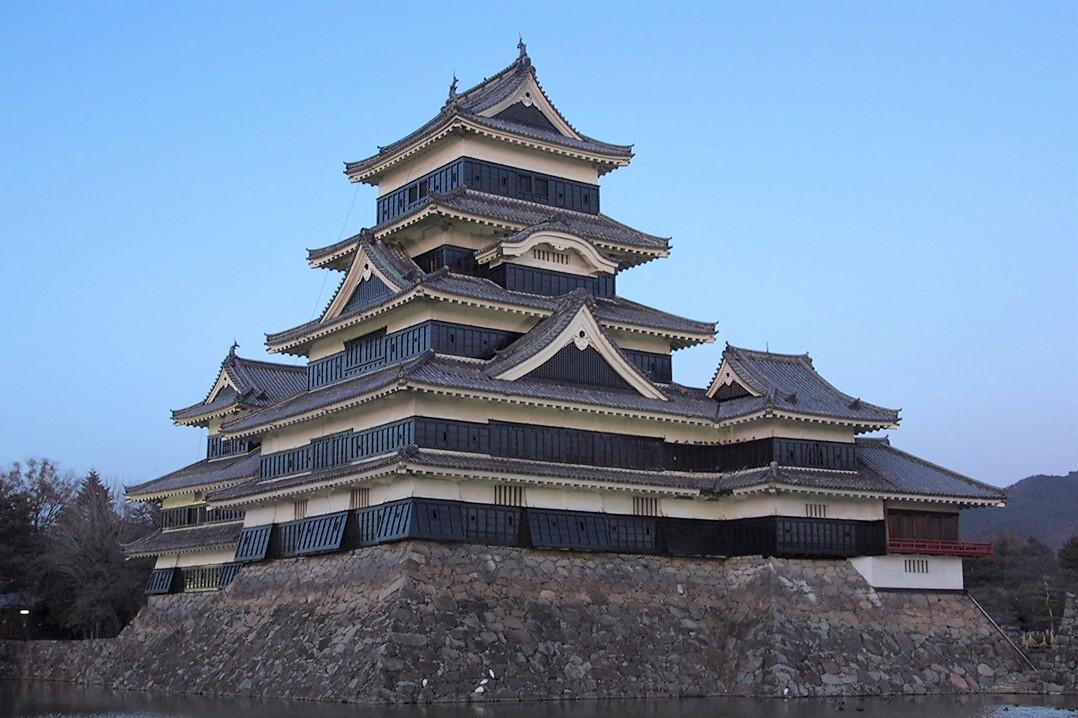 Matsumoto-jo castle in nagano