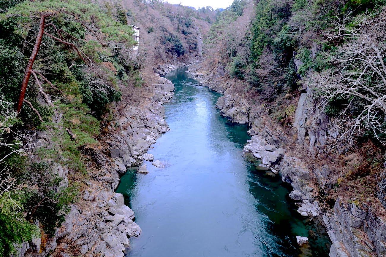 Tenryu-river in Nagano