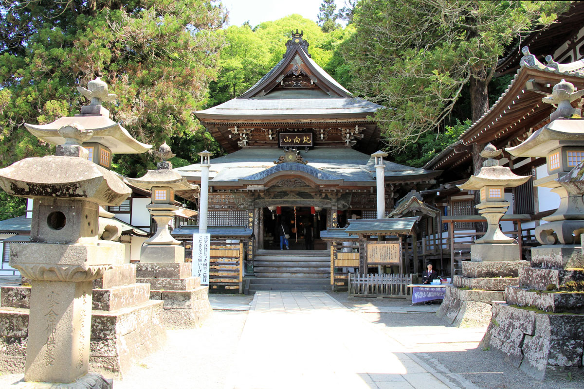 Kitamuki Shrine in ueda, nagano