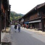 Tsumago-juku post town in Nagano