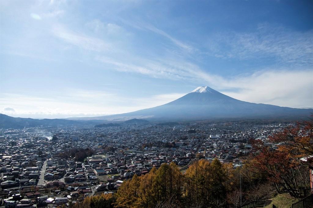 Mt, fuji in yamanashi