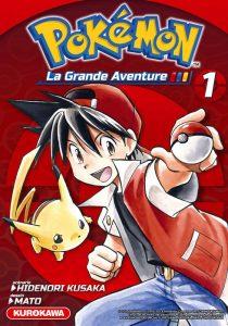 Pokemon, La grande Aventure T1 - Red