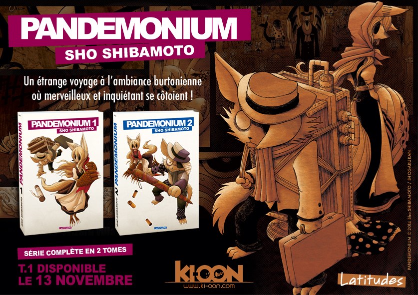 Pandemonium - Annonce Ki-oon