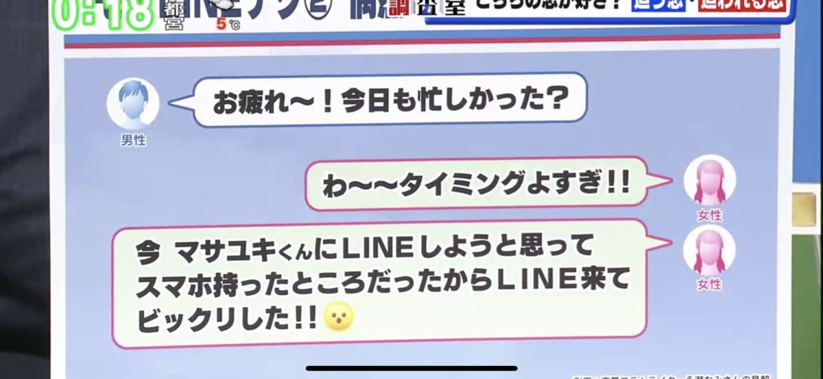 ひるキュンで「LINEモテテク」に取材協力をした際のスクリーンショット