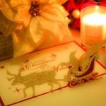 クリスマスカードを手作りで簡単にオリジナルのカードが作れます!