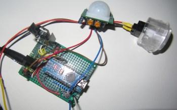 contrôleur d'éclairage vu de dessus
