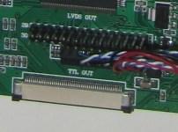 Le connecteur mal branché au départ