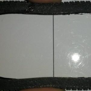 Le pneu en ninjaflex de R.Ian est souple et peut être déformé