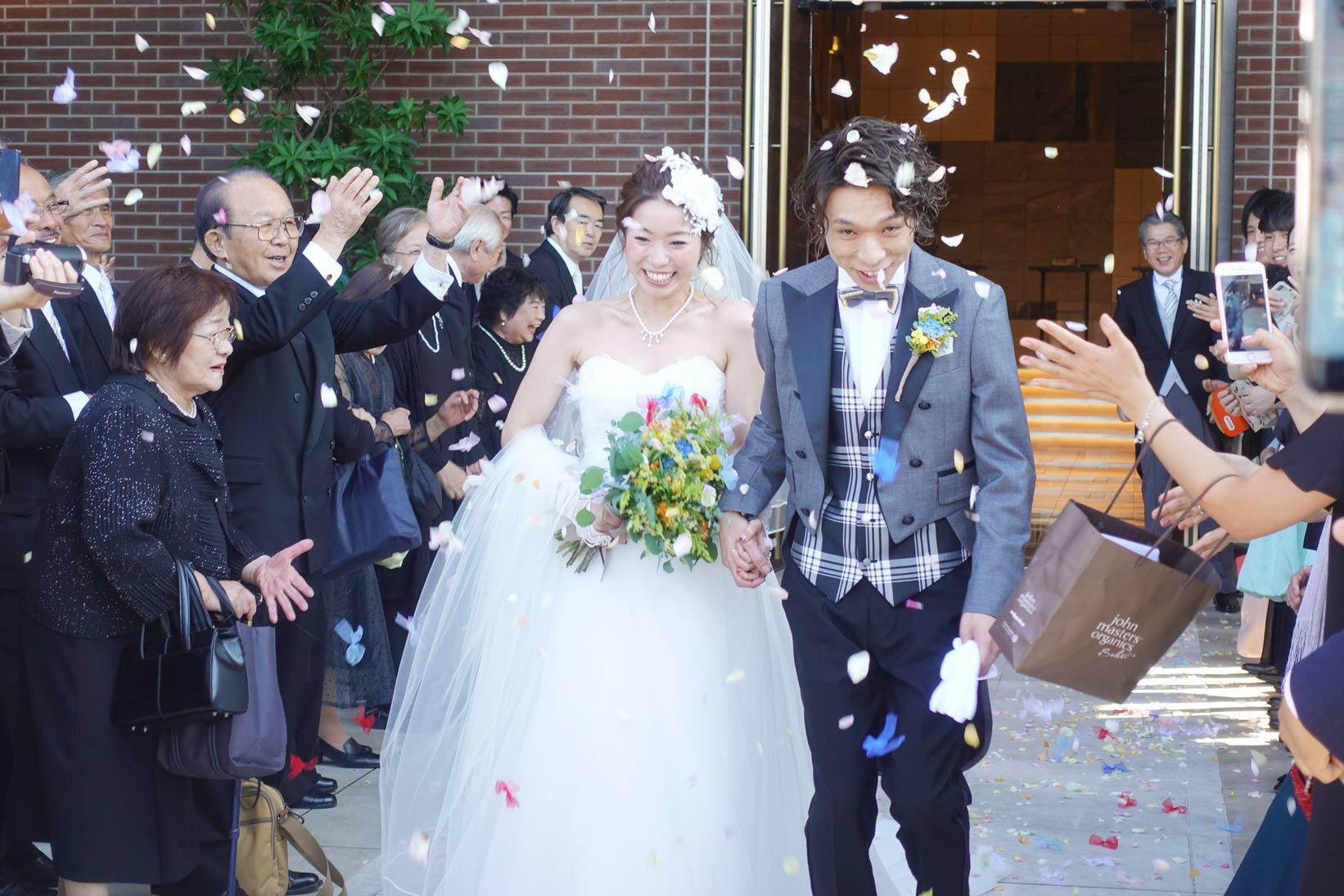 くっすーの最高の晴れ舞台[結婚式] | 本当におめでとう!これからも頑張ろうぜ![楠田元成・治子さん]
