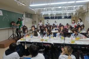 東京総合美容専門学校で特別授業   airのパーマとカットを伝授