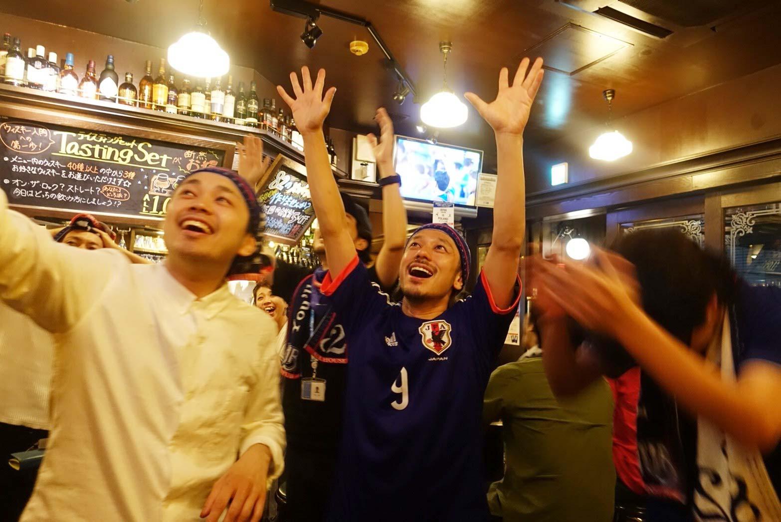 歓喜の夜は続く!!セネガルに引き分けで見えた決勝トーナメント!!