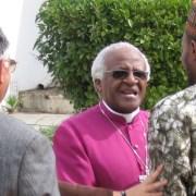 Desmond Tutu ist Schirmherr der FORGIVENESS-Ausstellung