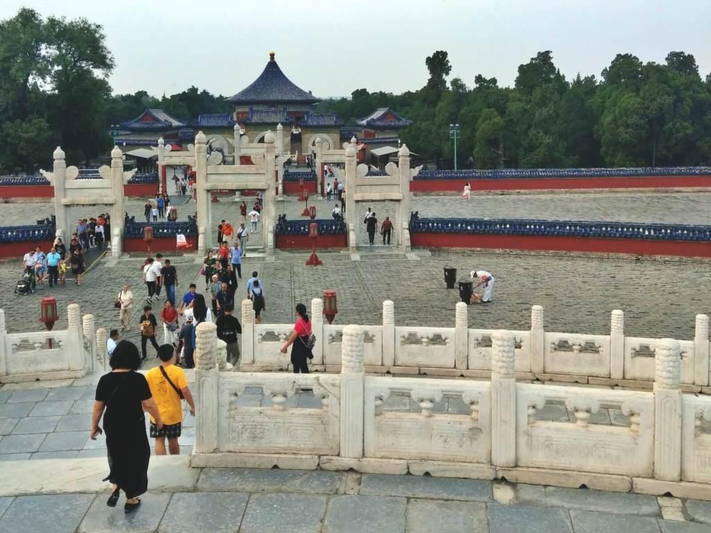 Cesarskie Centrum Świata. Świątynia Nieba w Pekinie.