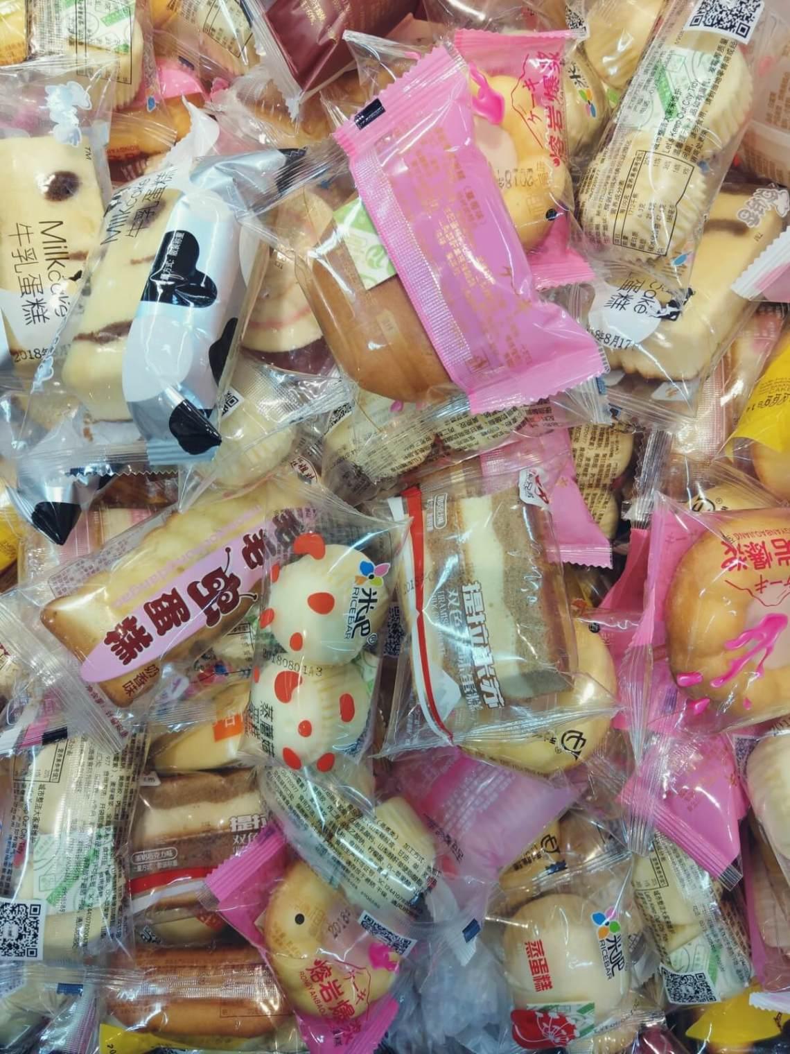 Chińskie słodycze.