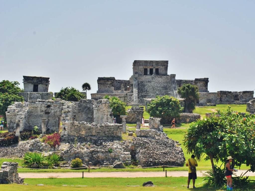 Ruiny miasta Tulum, na Jukatanie w Meksyku.
