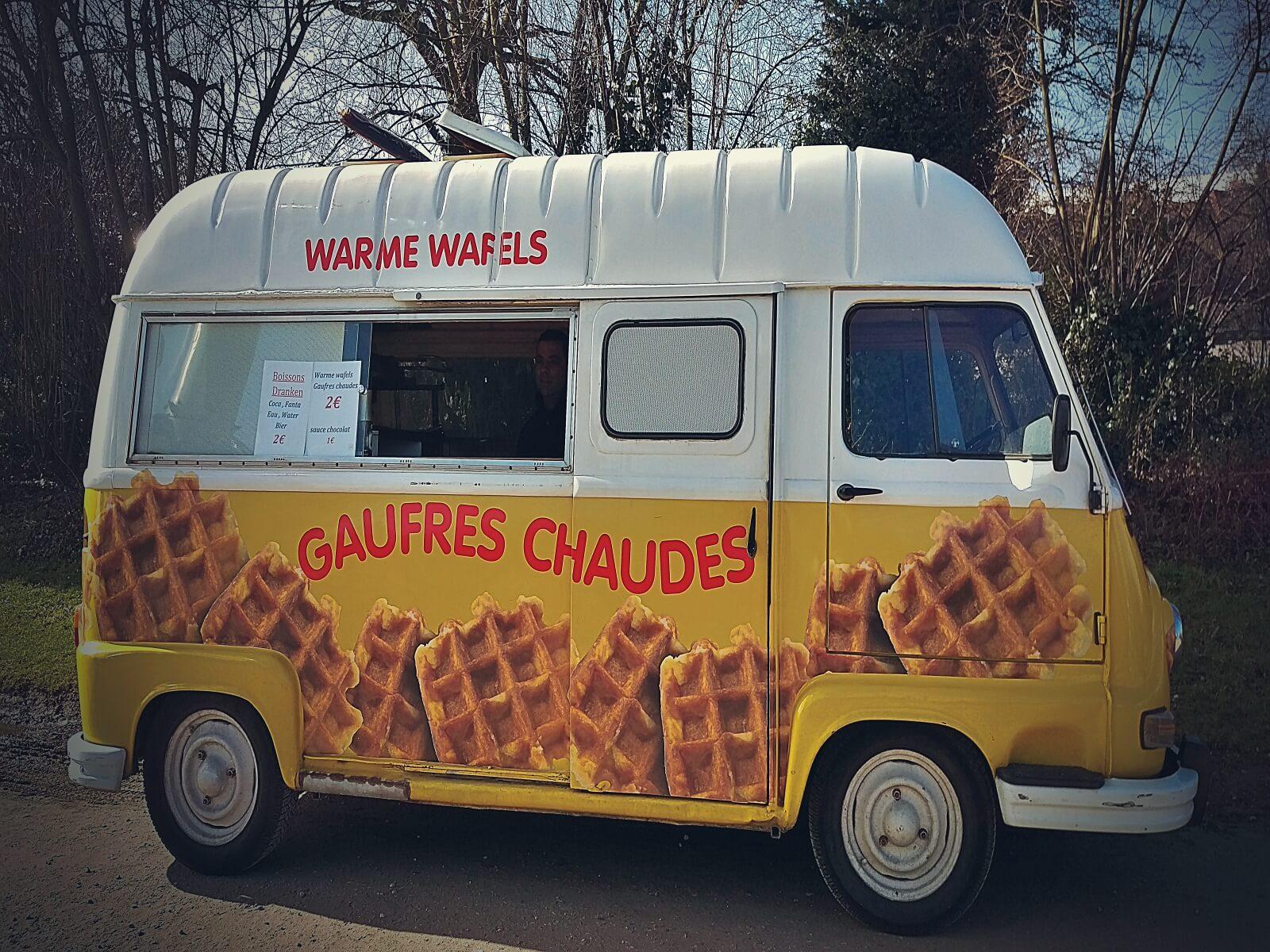 W Belgii jada się gory i frytki z majonezem.