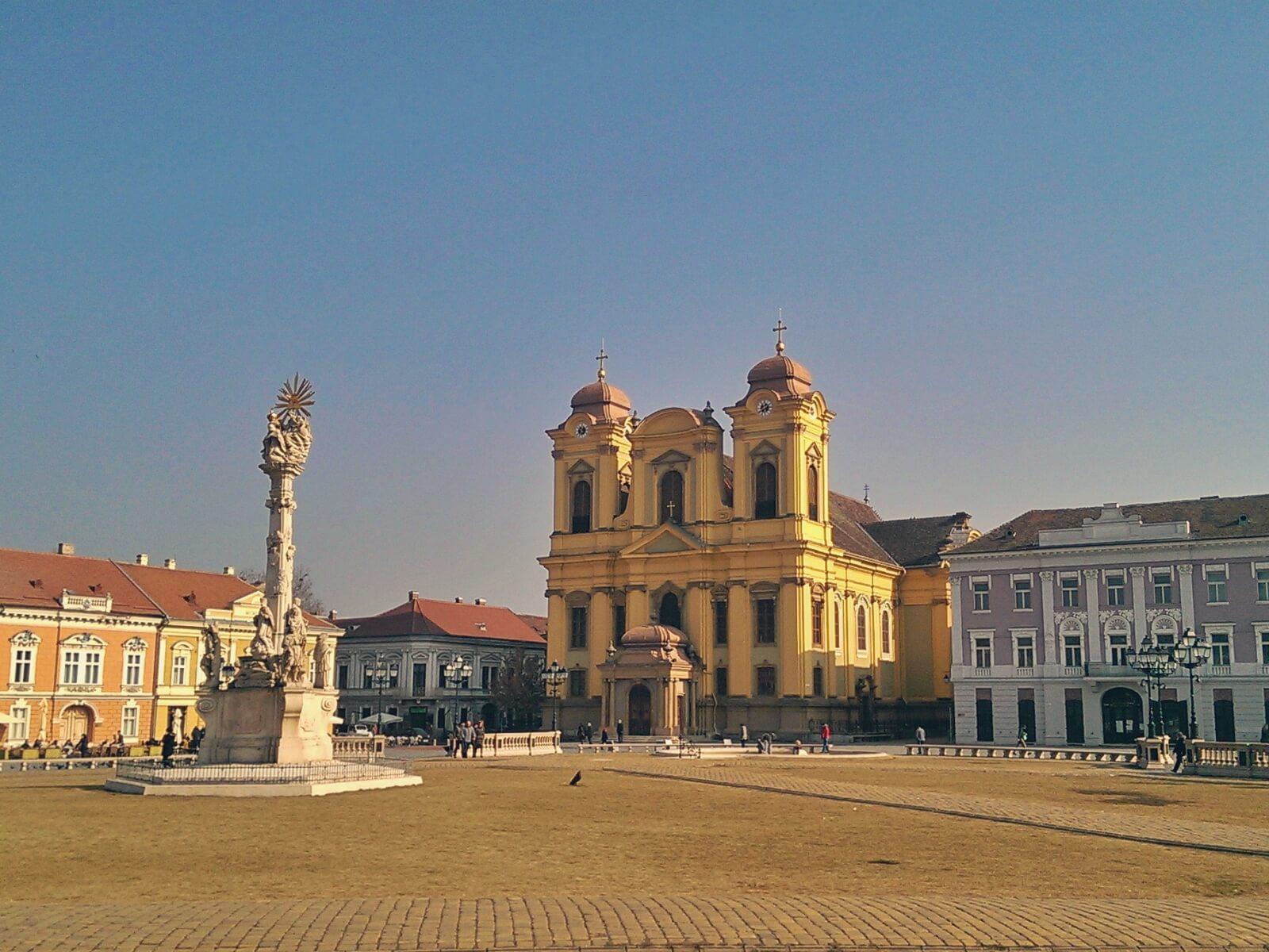 Katedra w Timisoarze w Rumunii.