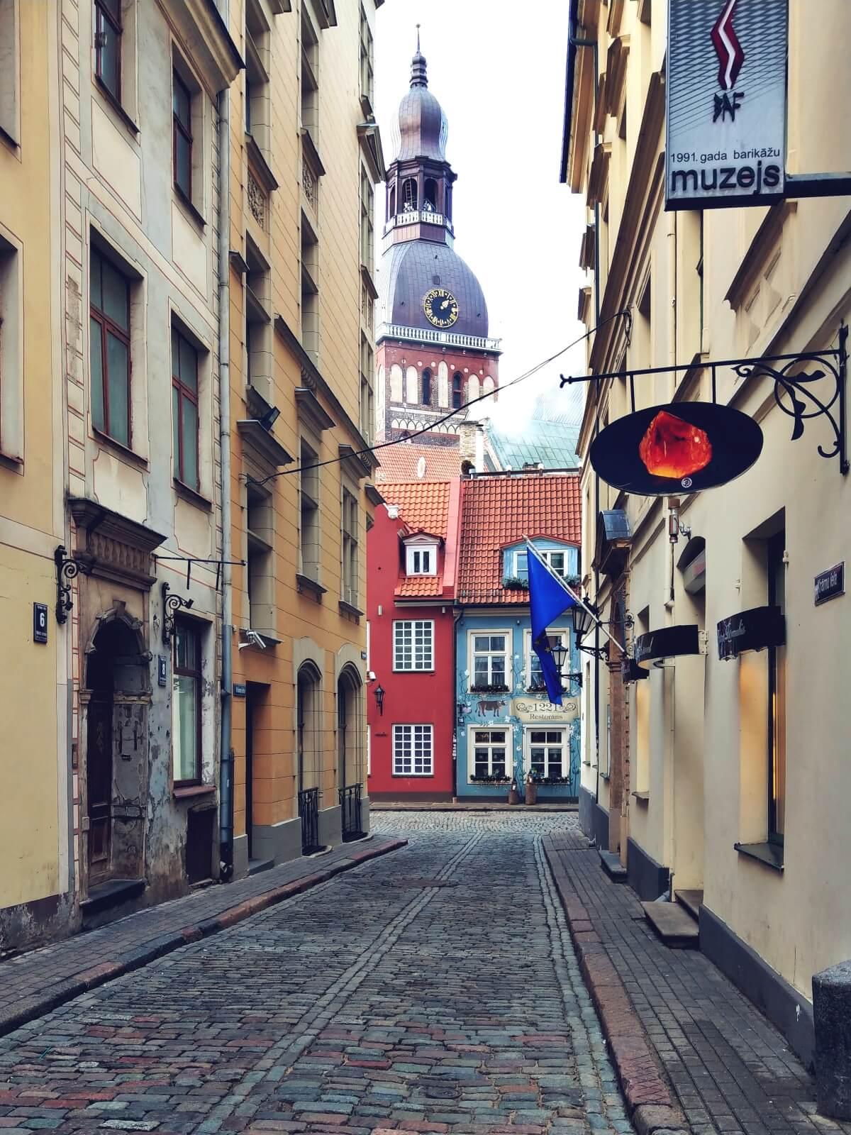 Łotwa, Ryga, Starówka.