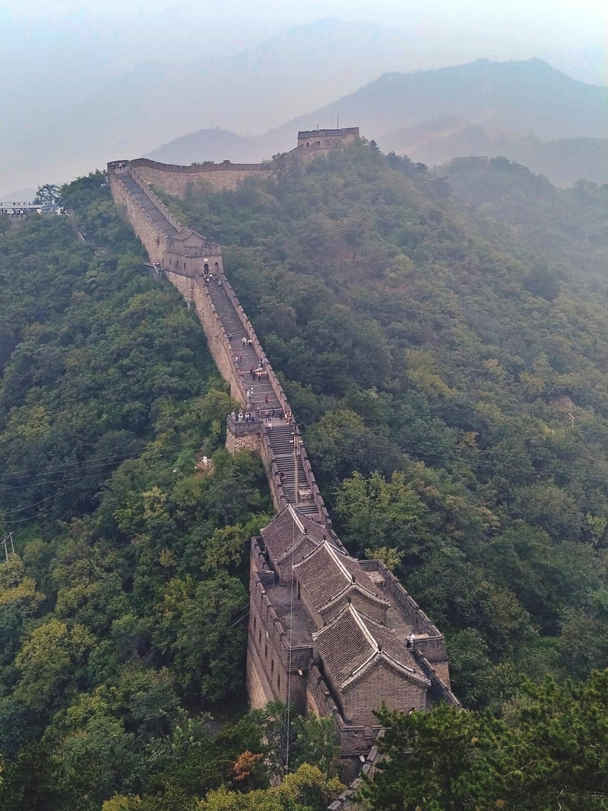 Wielki Mur w Chinach, jeden z Siedmiu Nowych Cudów Świata.