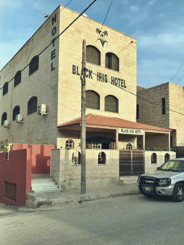 Hotel Black Iris w Madabie w Jordanii.