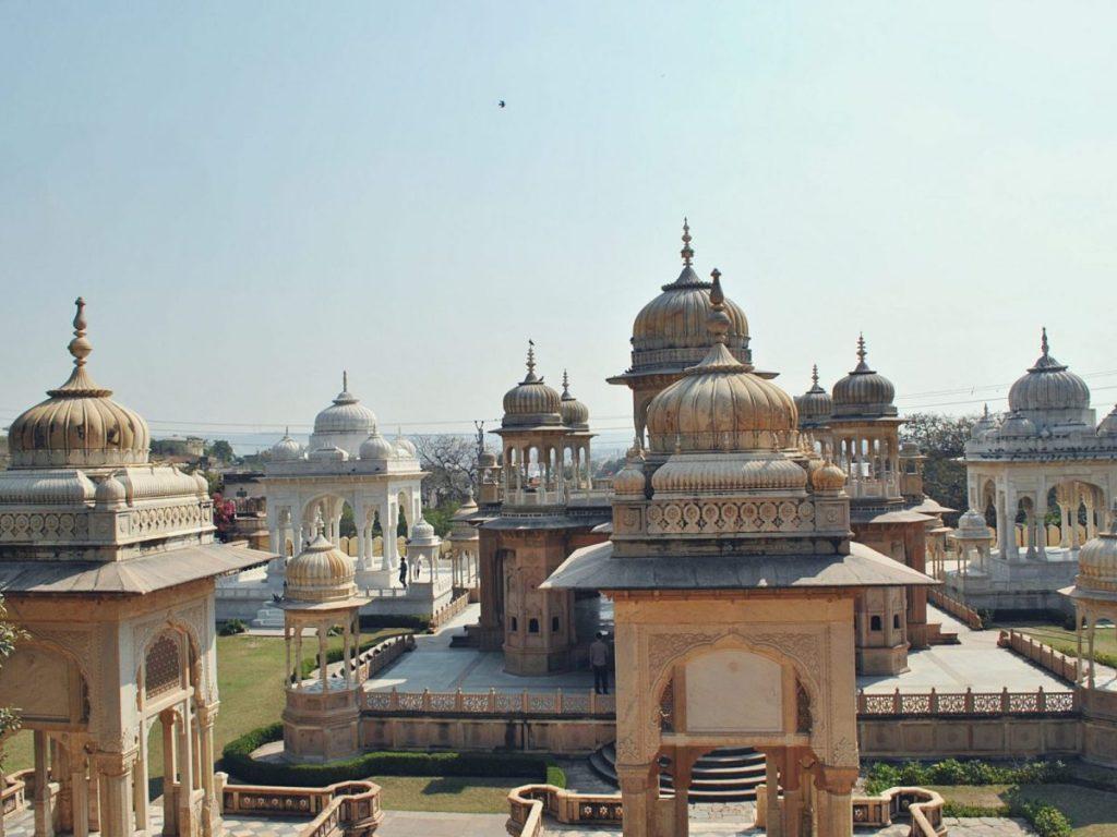 Miejsce kremacji indyjskich władców.