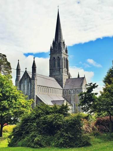 Katedra w Kilarney w Irlandii.