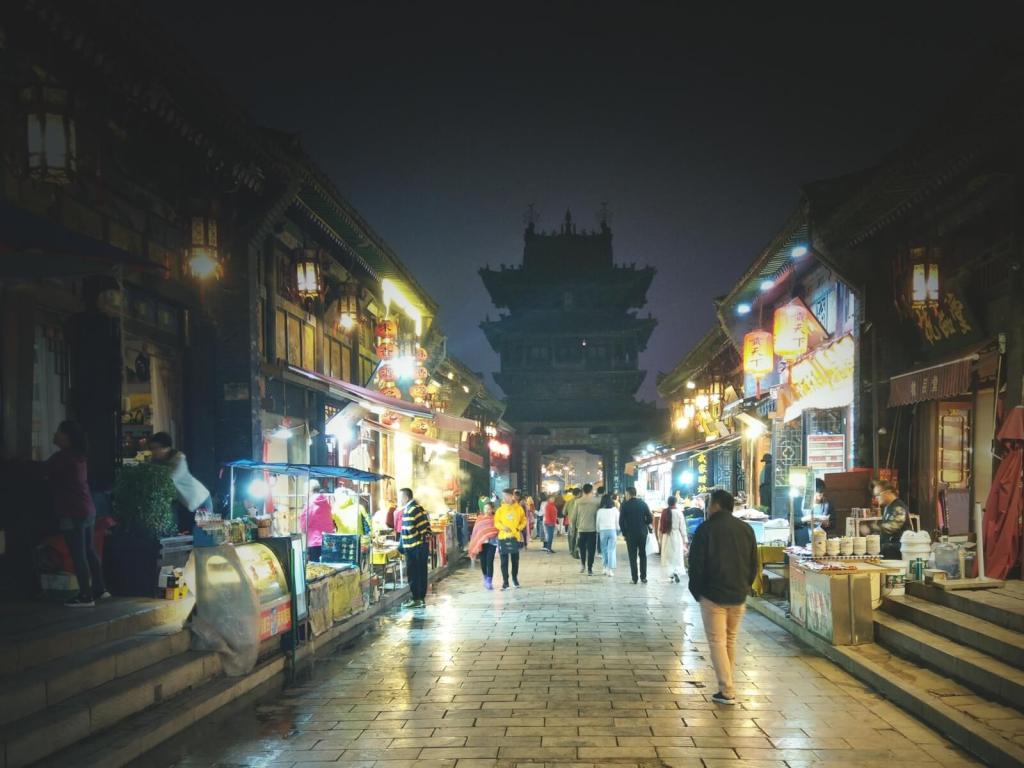 Starożytne miasto Pingyao.