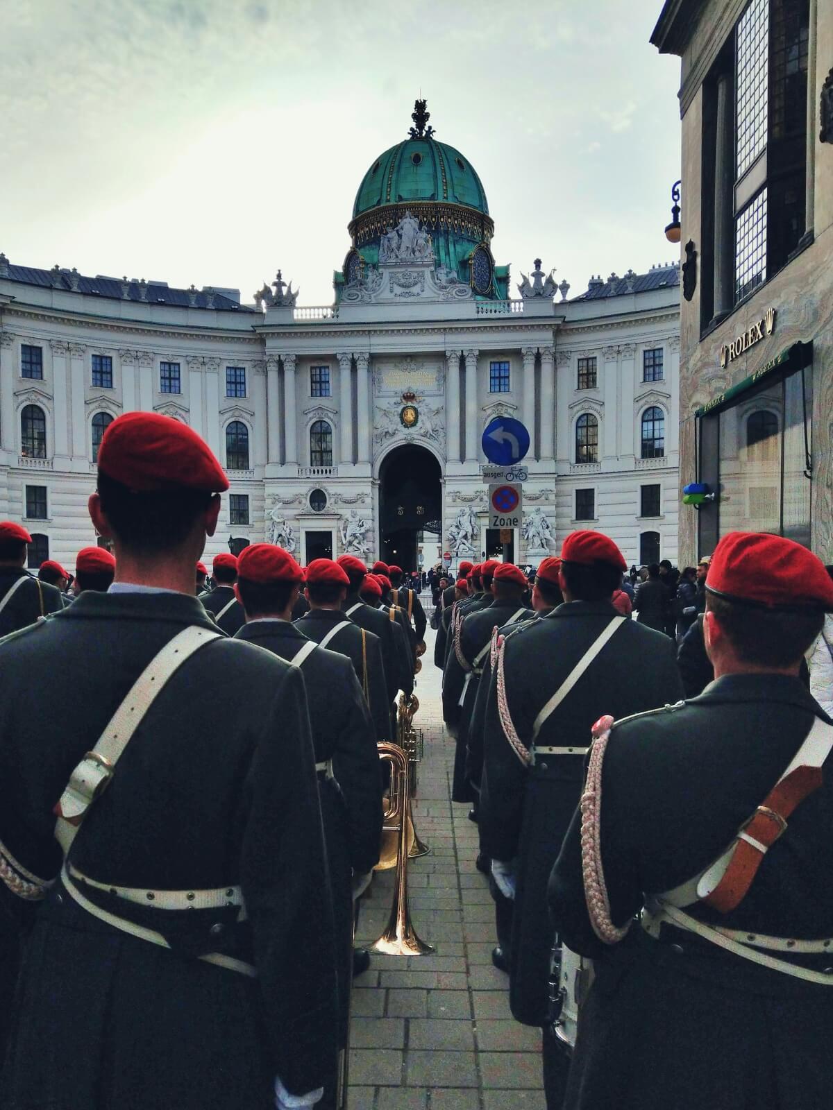 Wiedeń, stolica Austrii.