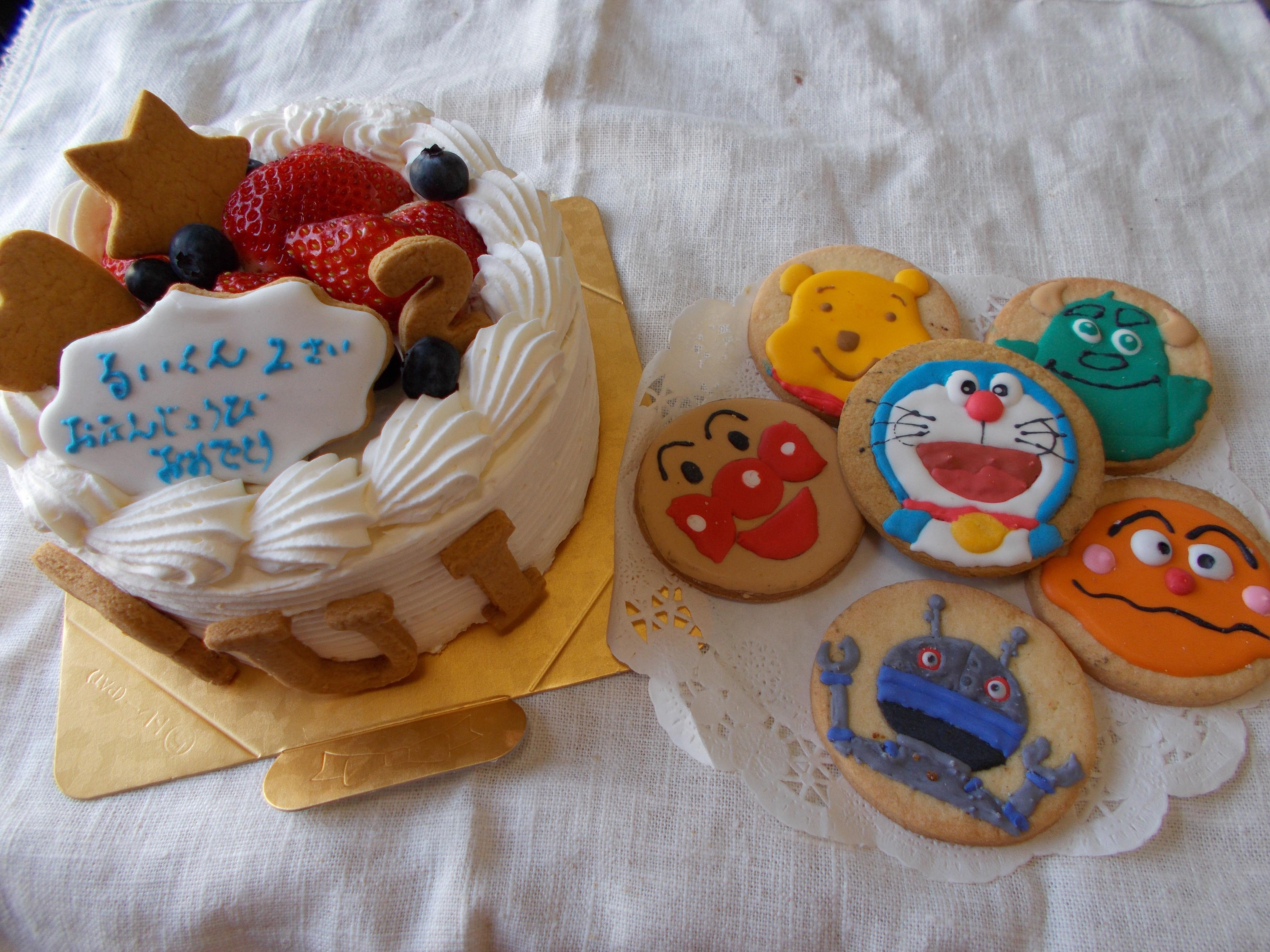 卵抜きのアレルギー対応ケーキ5号