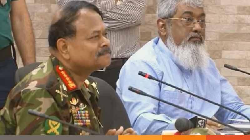'করোনা মোকাবিলায় যতদিন প্রয়োজন সেনাবাহিনী থাকবে'