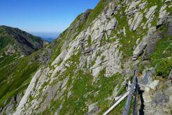 危険な登山道