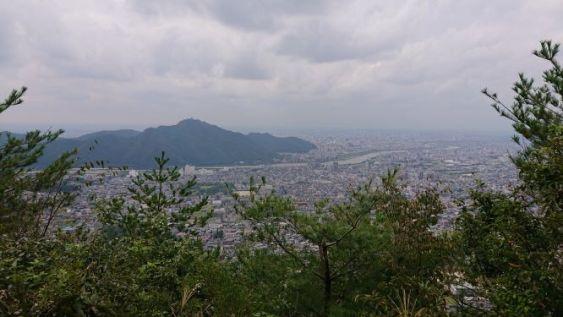 対面金華山