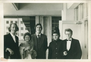 Cast of Oscar Wilde's The Importance of Being Earnest, May, 1977