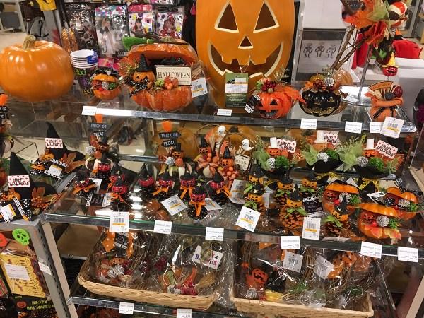 ロフト名古屋店の「ハロウィンコーナー」